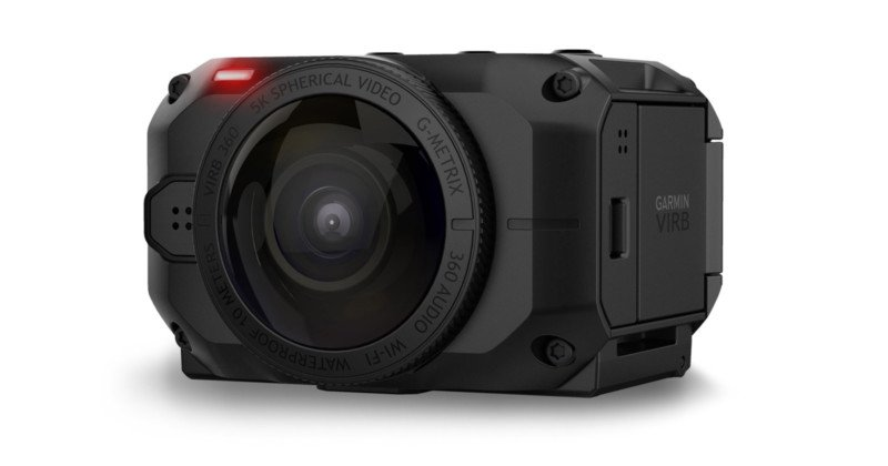 half off 8c37d cbdae Garmin has unveiled the VIRB 360, a waterproof and dustproof camera that  records both audio and video in 360 degrees, taking 15-megapixel spherical  stills ...