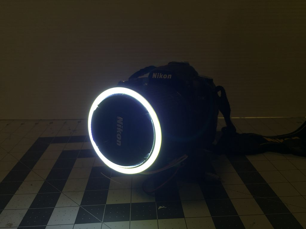 To See The Full Step By Step Tutorial With Pictures To Go Along With It,  Head On Over To Instructables. And If You Do Build This Little DIY Ring  Light, ...