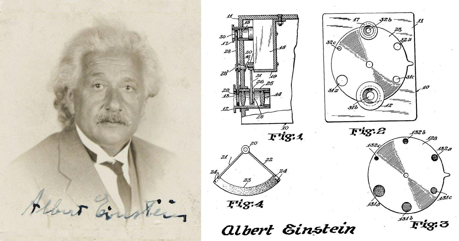 Einstein Patented an Auto-Exposure Camera Before Kodak Made It Exist
