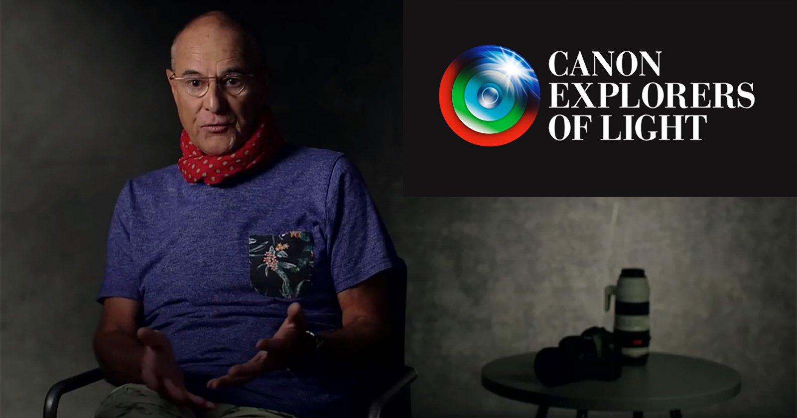 5 Inspiring Videos Featuring Canon's 'Explorers of Light' Photographers