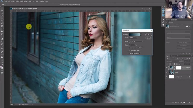 How to Guide Your Viewer's Eye Using Radial Gradients in Photoshop