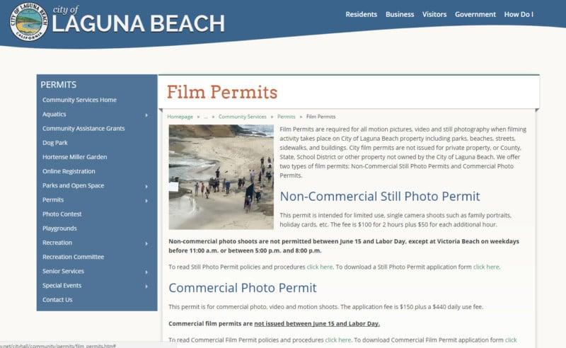 City Of Laguna Beach Permit Fees