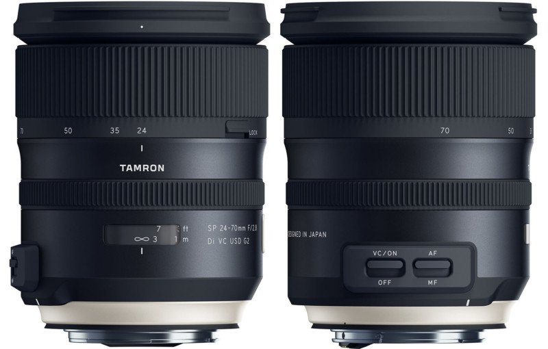Tamron Unveils 24-70mm f/2.8 for Full Frame with 5 Stops of ...