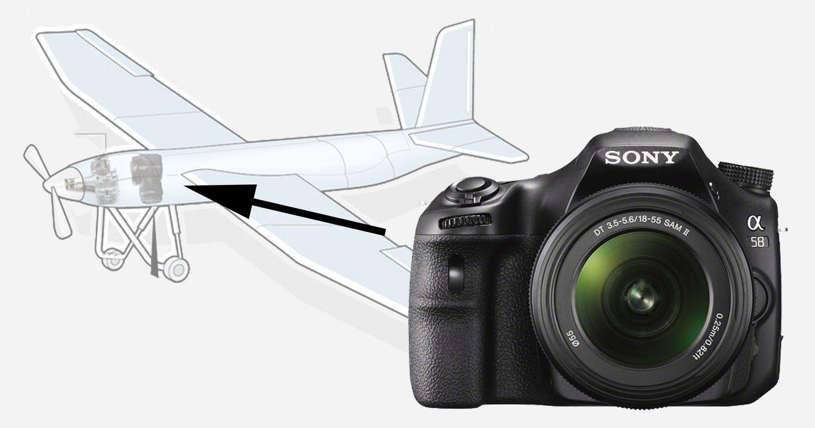 Sony SLT Camera Found in Crashed North Korean Spy Drone