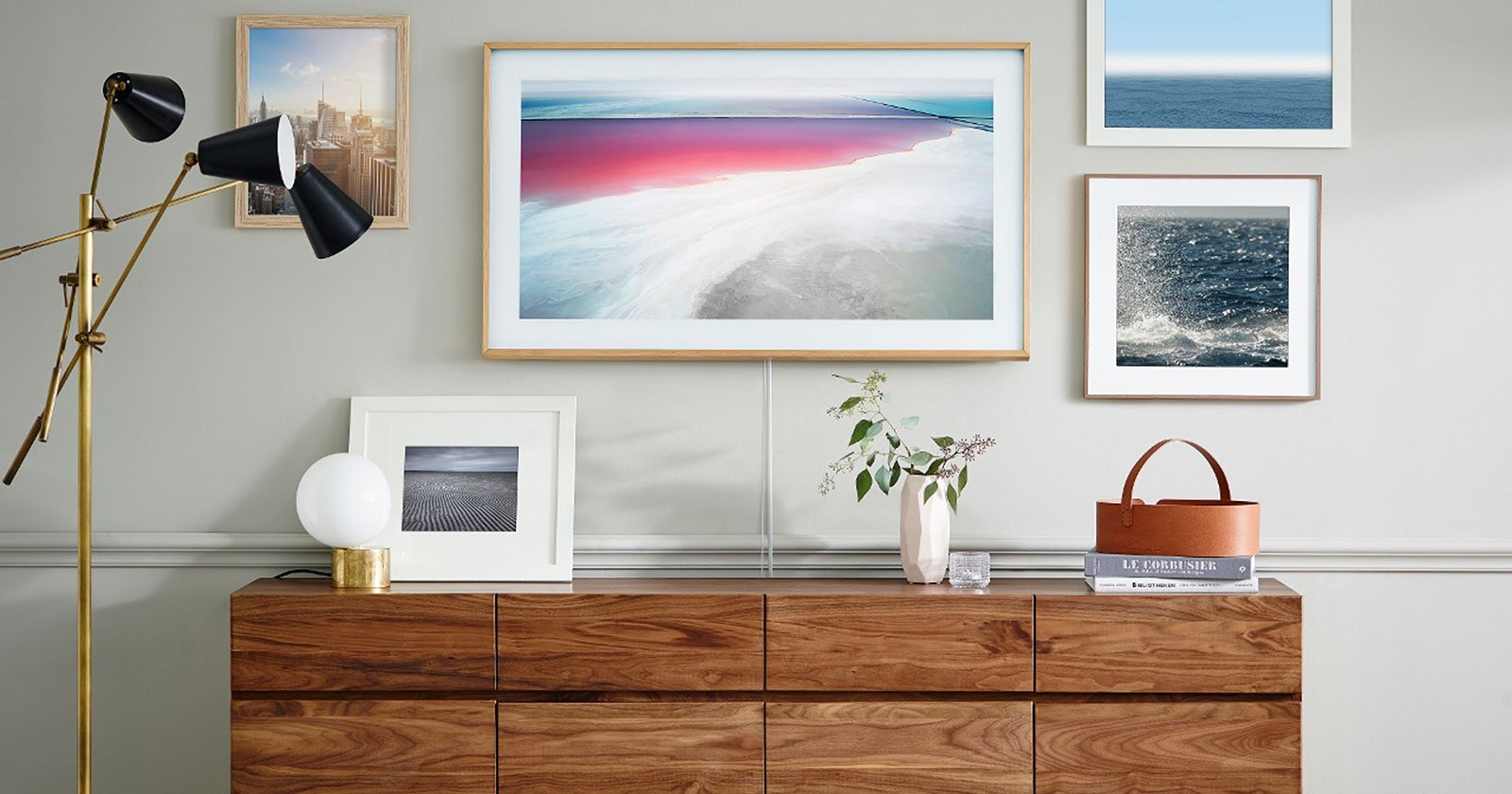 Samsung's New TV is Designed to Look Like a Framed Photo