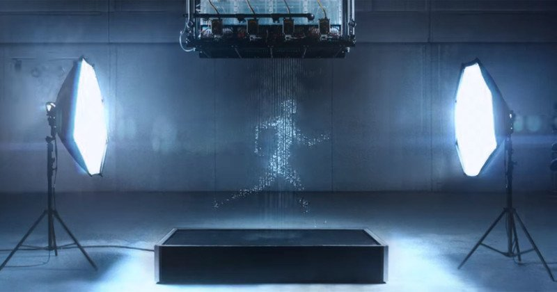 This Gatorade Ad Made a Human Using Water and Photos Instead of CGI