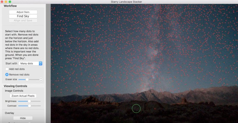 How to Get Noise-free Star Photos with Starry Landscape Stacker