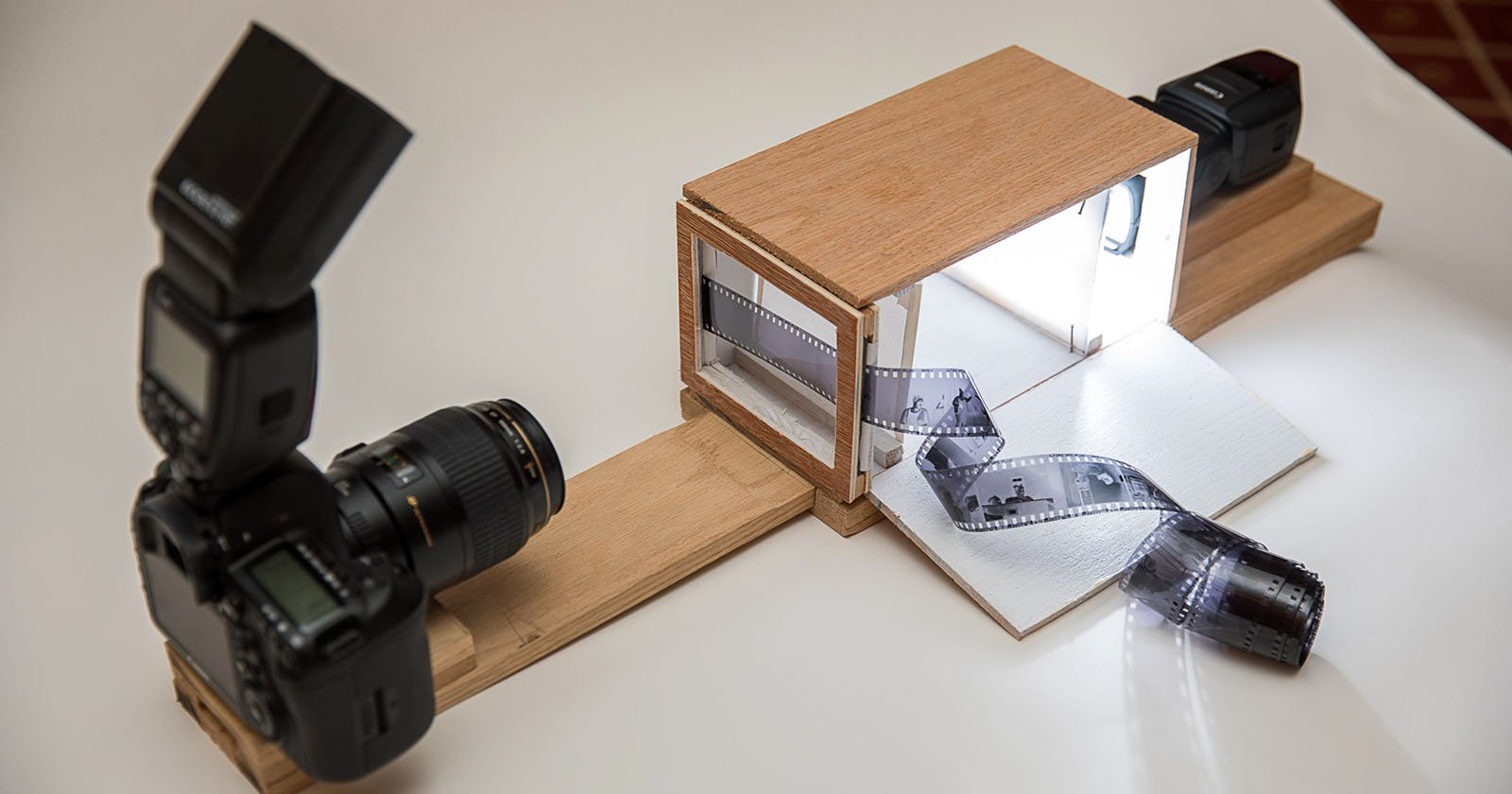 How I Built A Film Digitizing Lightbox