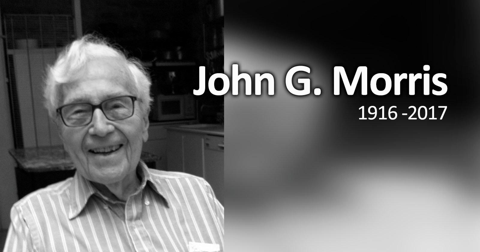 Legendary Photo Editor John G. Morris Dies at 100