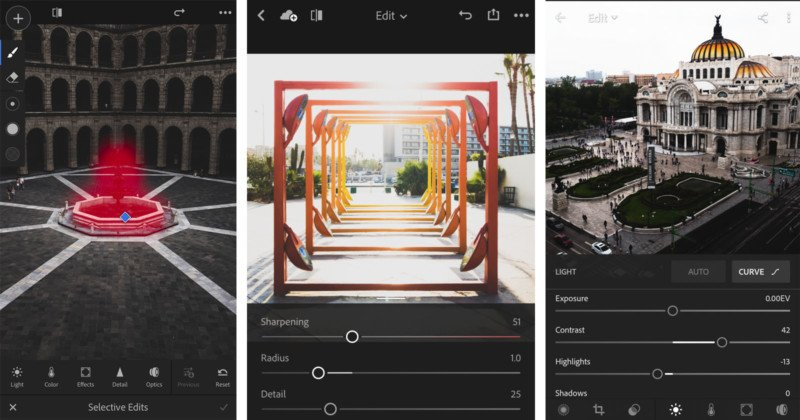 Lightroom for iOS adds 3D touch-powered selective brush tool