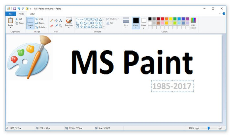 Rip microsoft paint killed off after 32 years for Microsoft paint download