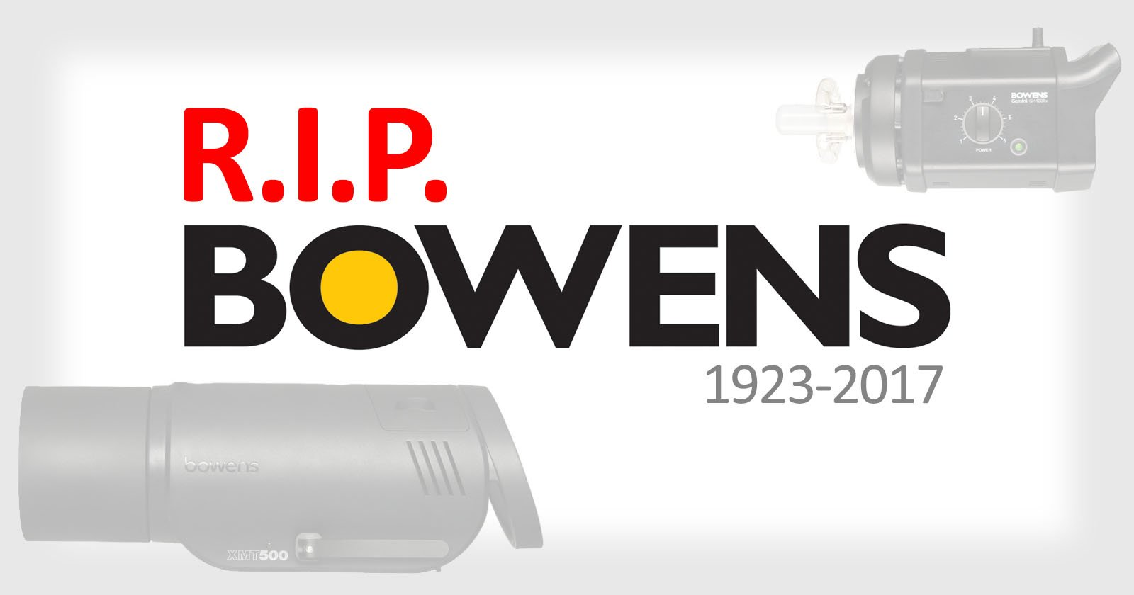 Bowens: Yes, We're Dead, and Chinese Brands Killed Us