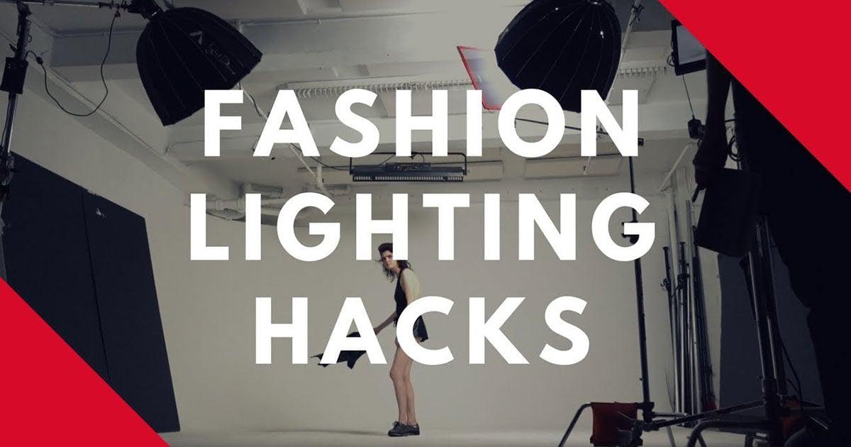 4 Lighting Hacks for Fashion Shoots