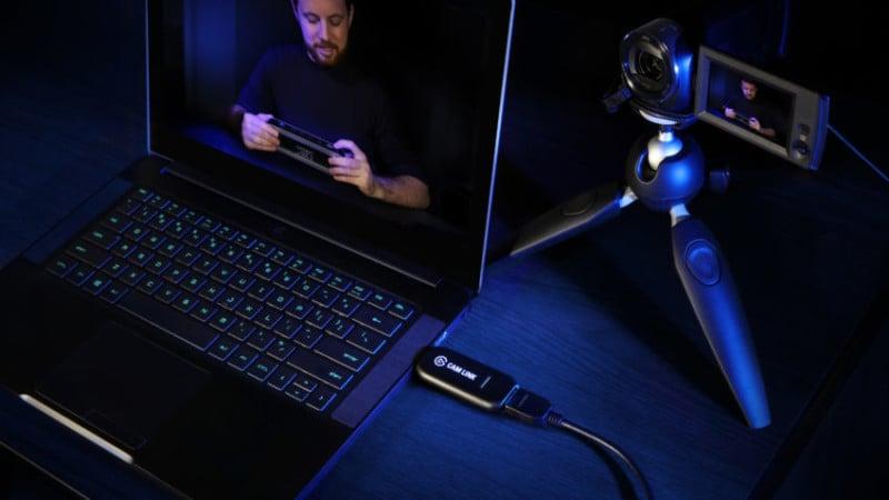 Cam Link Turns Any Camera with HDMI Output Into a Webcam