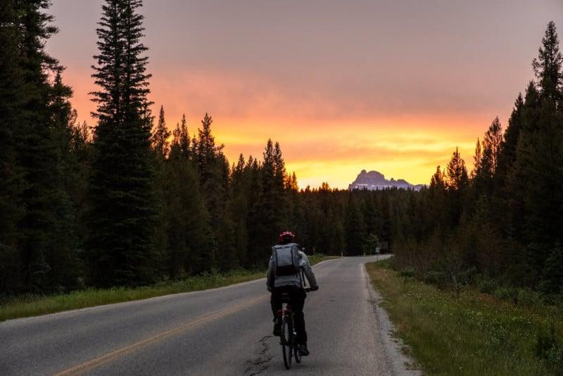 I Biked Across the Canadian Rockies to Build a Photo Portfolio