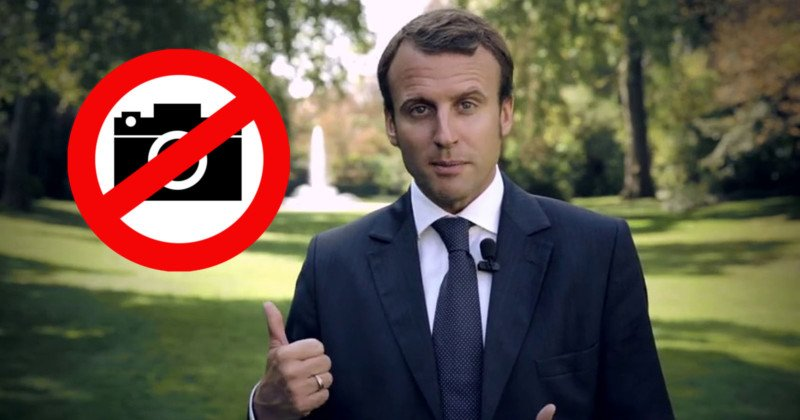 French President Emmanuel Macron Seeking Legal Action Against Photographer