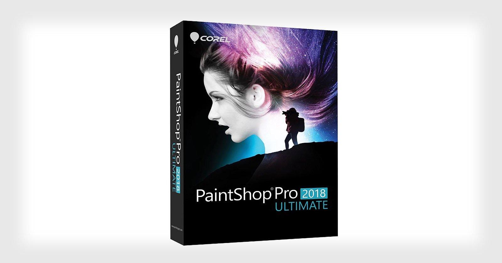corel paintshop pro 2019 ultimate software