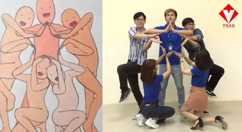 Ridiculous Group Photo Poses You Can Try With Your Friends