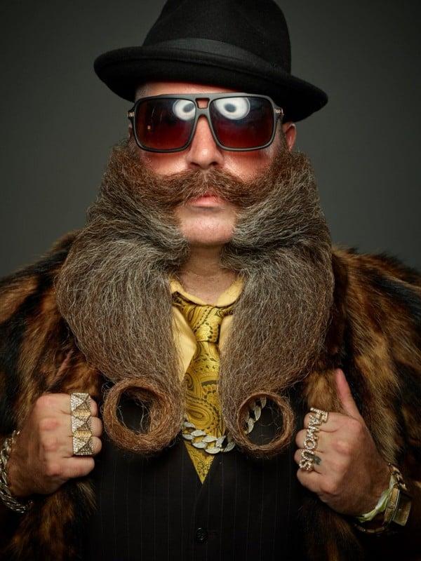 facial hair champion Beard world