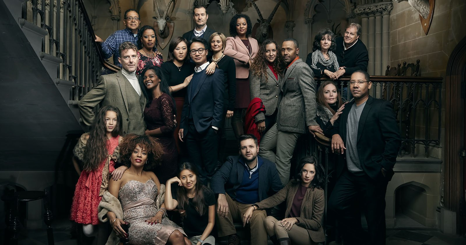 How To Shoot An Annie Leibovitz Style Group Portrait With