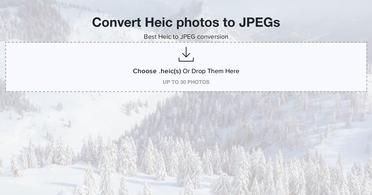 here u0026 39 s a handy new site that converts ios 11  heic photos