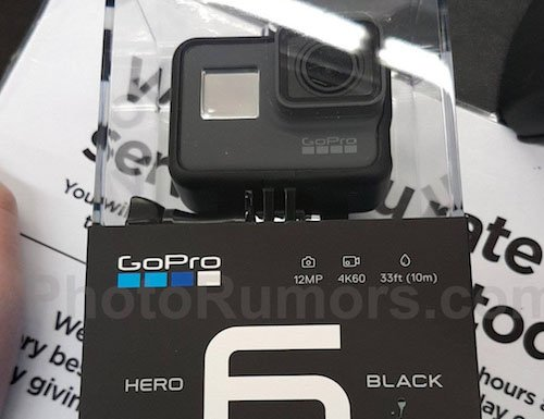 GoPro's Hero6 Camera Leak Suggests 4K Recording At 60 FPS