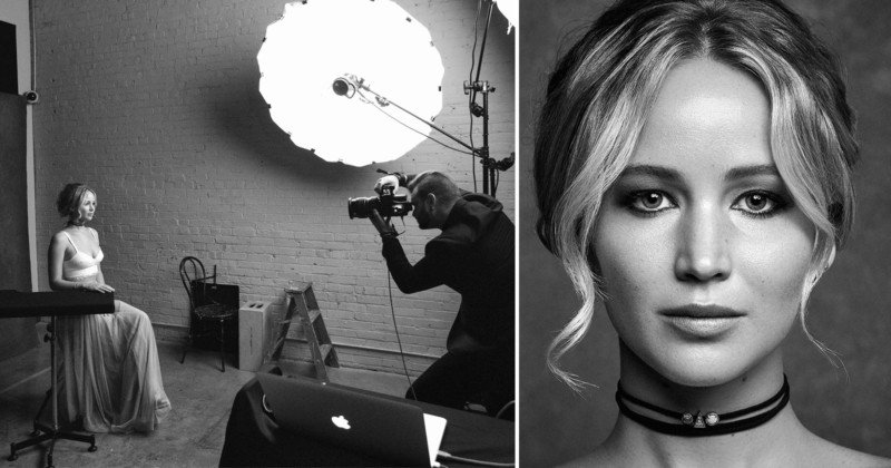 my photo shoot with jennifer lawrence