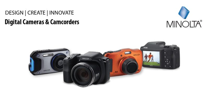 Minolta Quietly Released a Set of New Digital Cameras