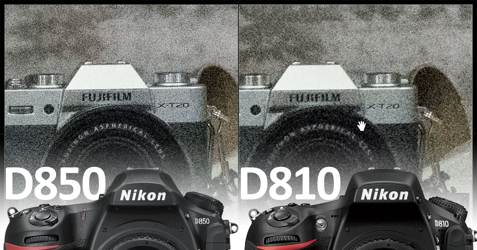 How the Nikon D850's Dynamic Range Stacks Up Against Rival