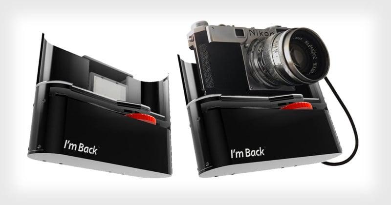 'I'm Back' is a New Digital Back for Old 35mm Cameras
