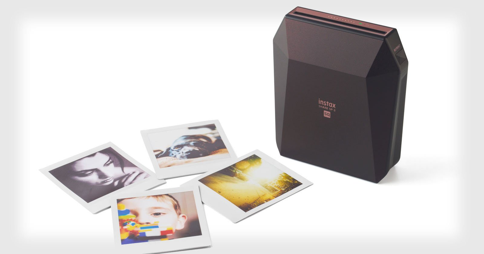 fujifilm 39 s new instax share sp 3 is its first square format photo printer. Black Bedroom Furniture Sets. Home Design Ideas