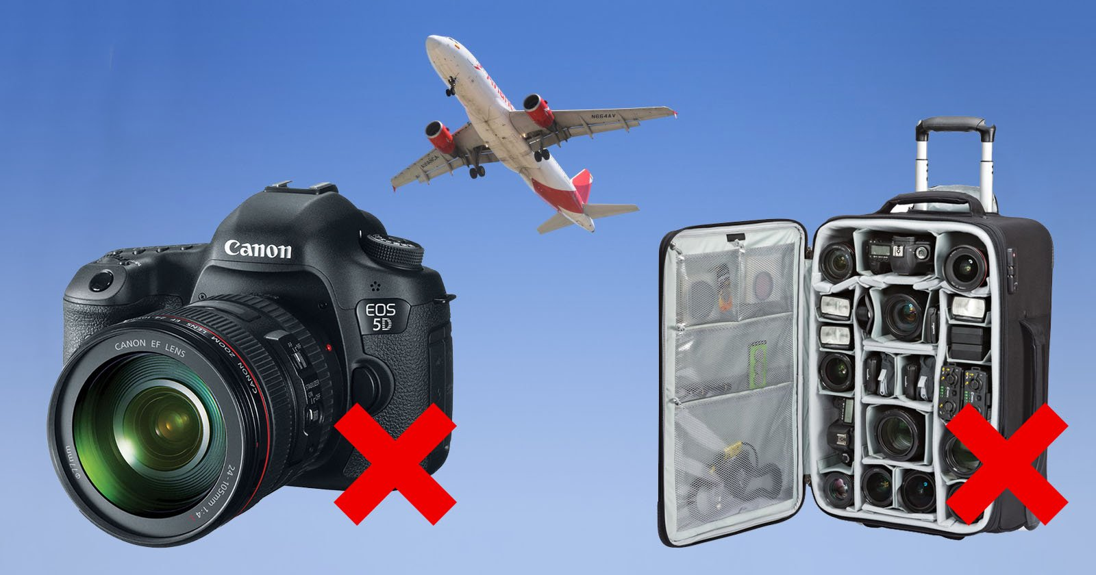 US Urging Airlines to Ban Cameras in Checked Bags
