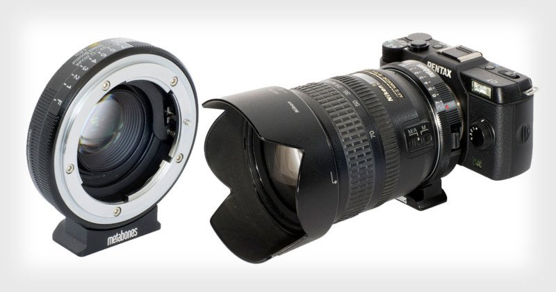 Metabones Devil's Speed Booster Can Give Your Pentax Q an f/0.666 Lens