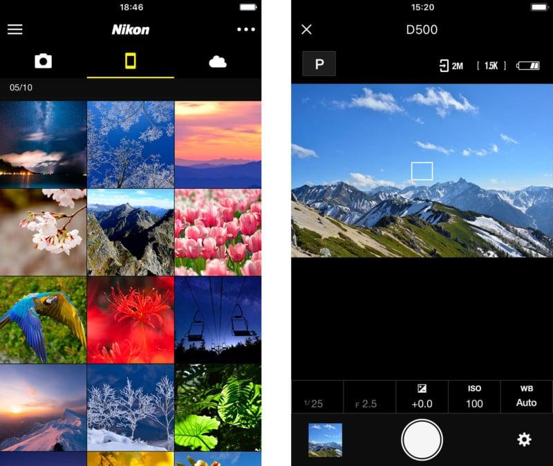 Nikon SnapBridge App Redesigned: Full Manual Control and a
