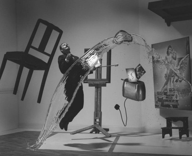 photographer recreates the iconic photo dali atomicus