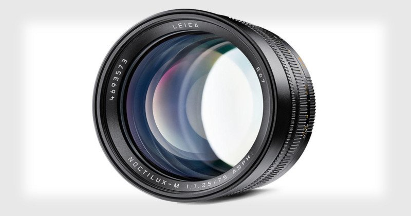 The Leica Noctilux-M 75mm f/1.25 is a $12,795 Bokeh-Lover's Dream Lens