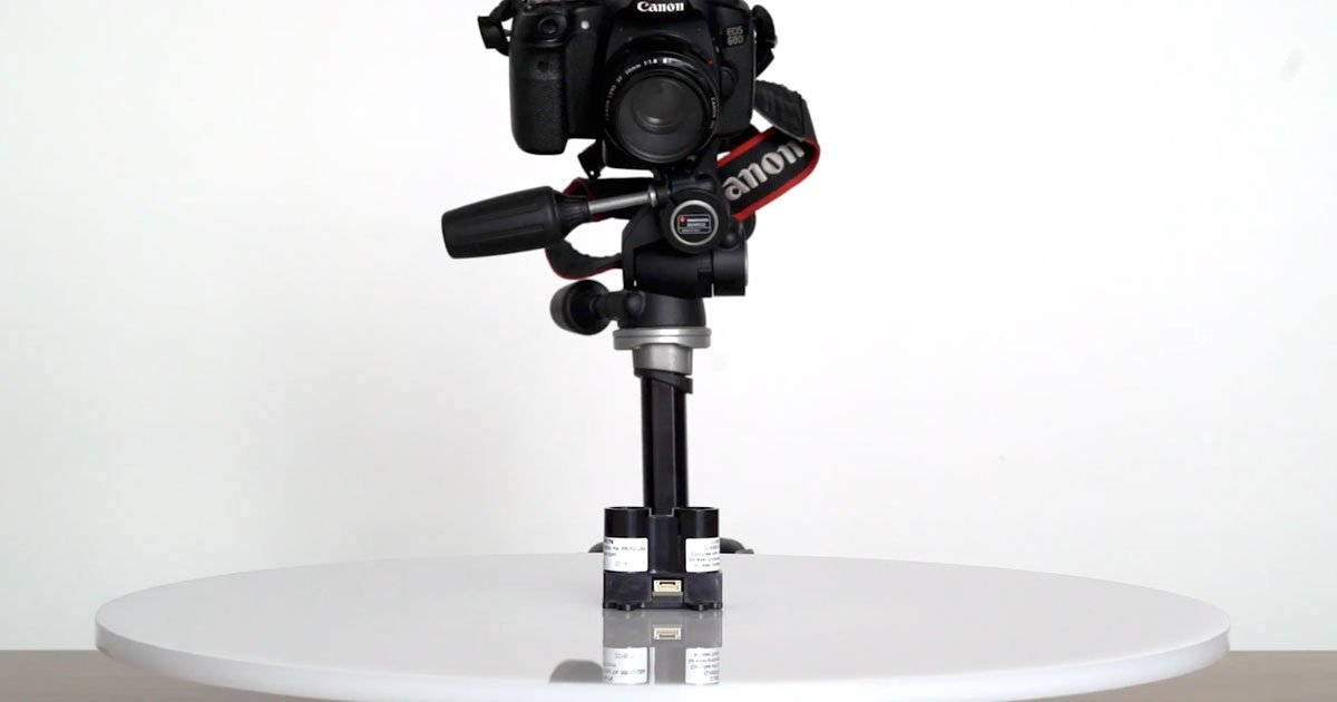 Make a DIY Automated Turntable for Product Photography