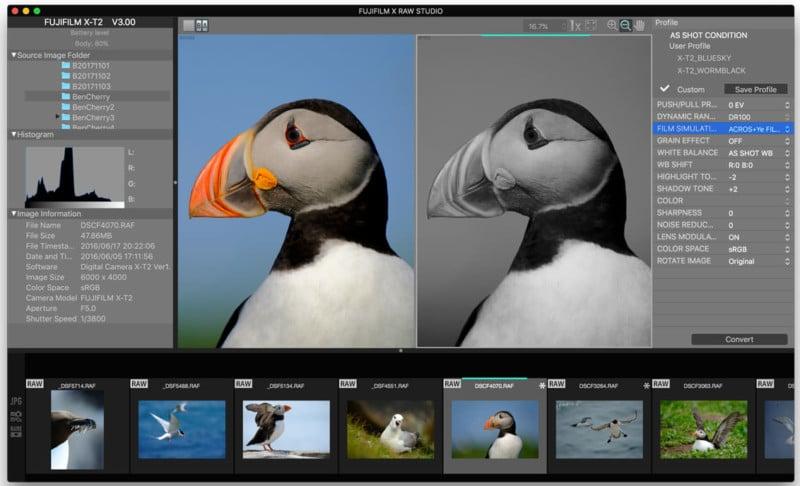 Fujifilm X RAW STUDIO Launches: RAW Conversion Aided by a Camera