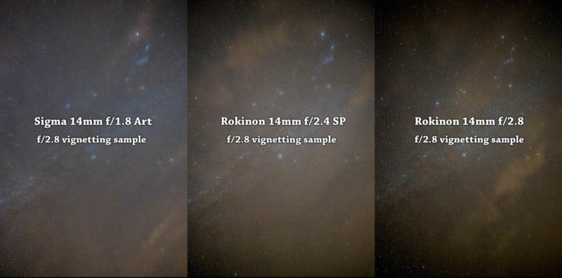 Star Lens Shootout: Sigma 14mm vs  Rokinon 14mm