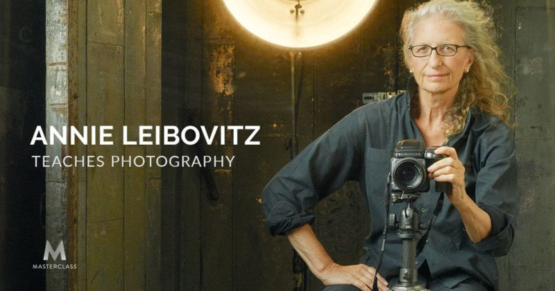 Annie Leibovitz is Teaching Her First-Ever Online Photography Class
