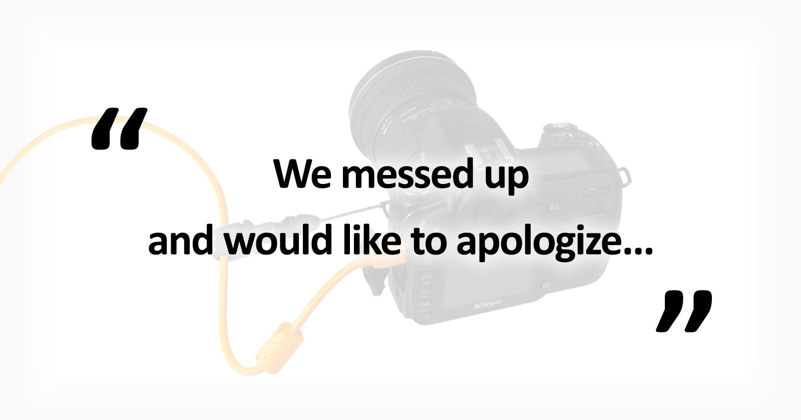 THIS is How You Apologize for Using a Photo Without Permission as a Brand