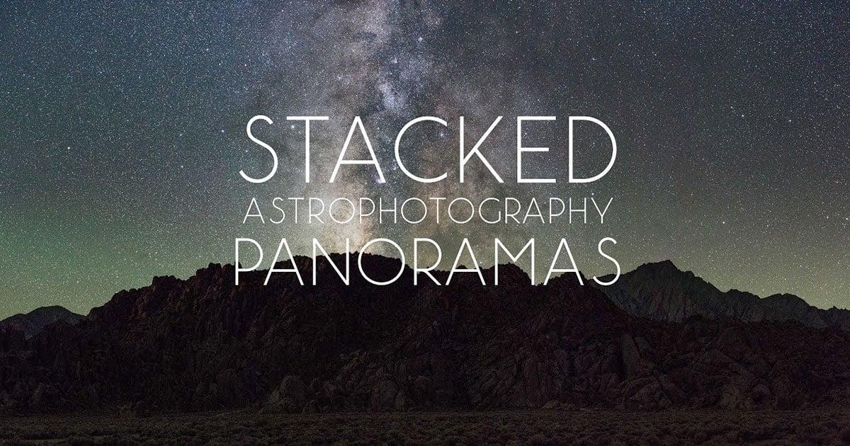 Wie man Panoramen der Sterne stapelt und zusammenfügt: Eine komplette Anleitung