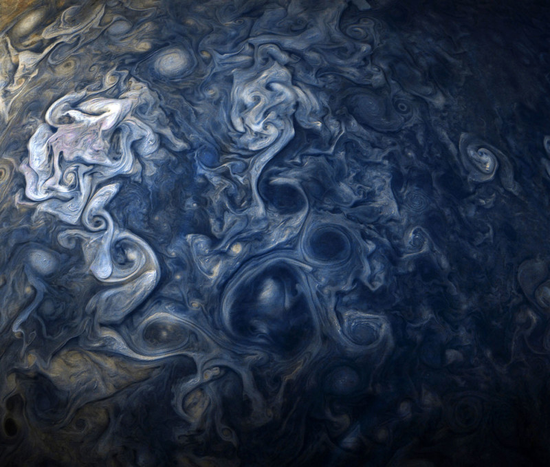 These Closeup Photos of Jupiter Look Like Works of Art