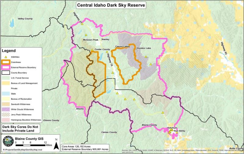 Idaho Gets First International Dark Sky Reserve in the
