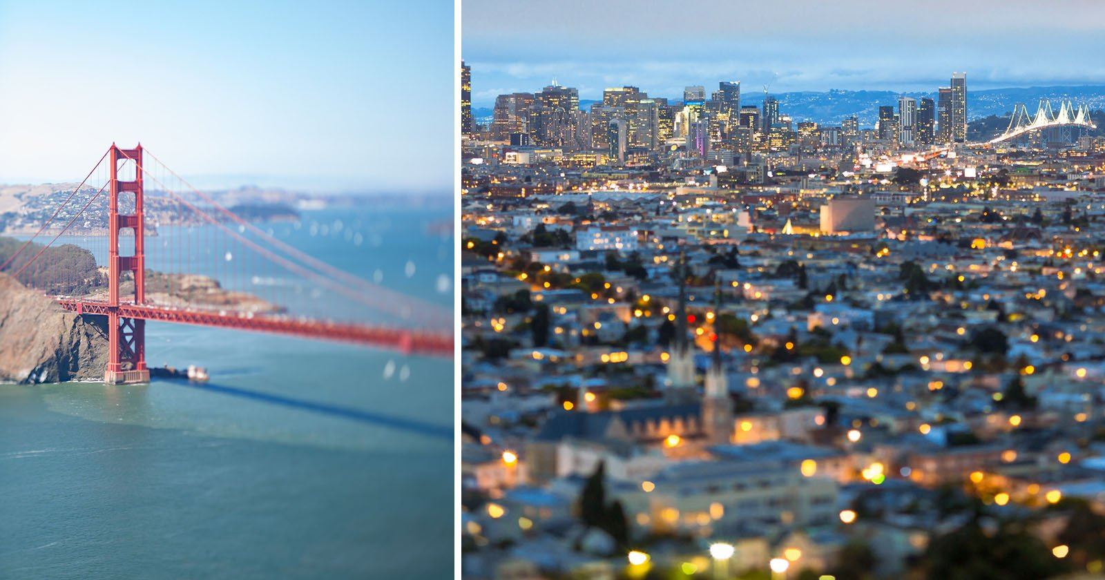 I Shot Tilt-Shift Photos of San Francisco