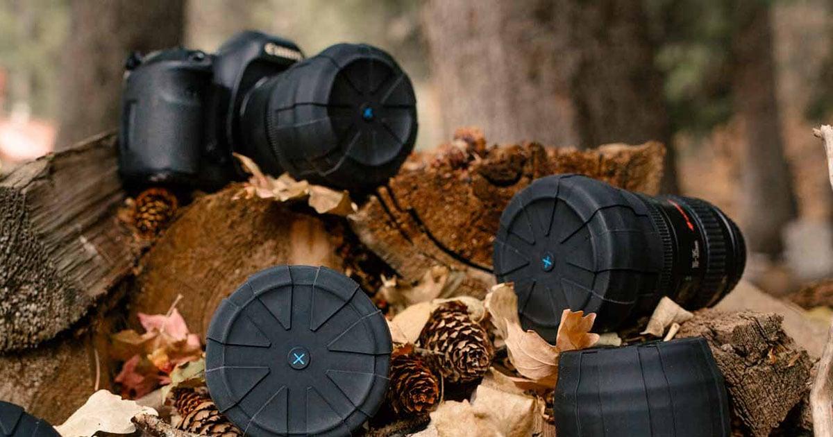 Kuvrd is a Universal Waterproof and Dustproof Lens Cap