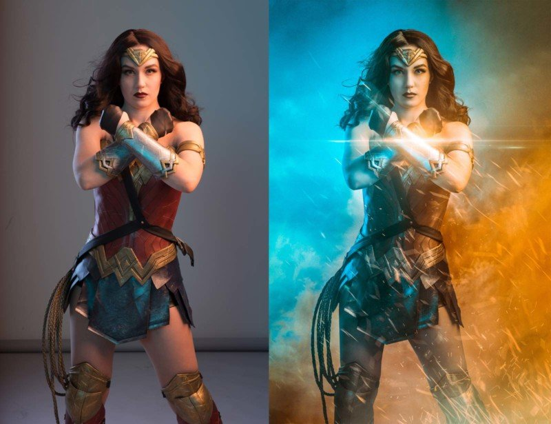 Wonder Woman Photoshoot