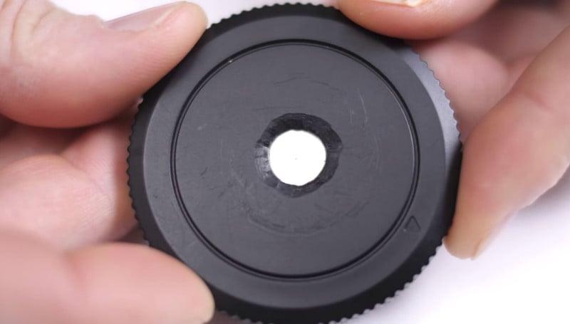 How to Make a DIY Pinhole Lens with a Camera Body Cap: A 1-Minute Guide
