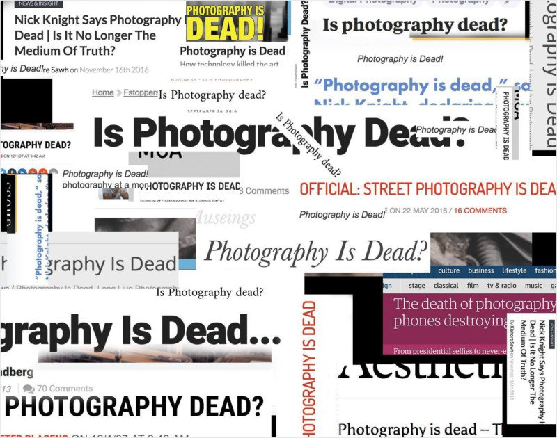 Photography Never Died