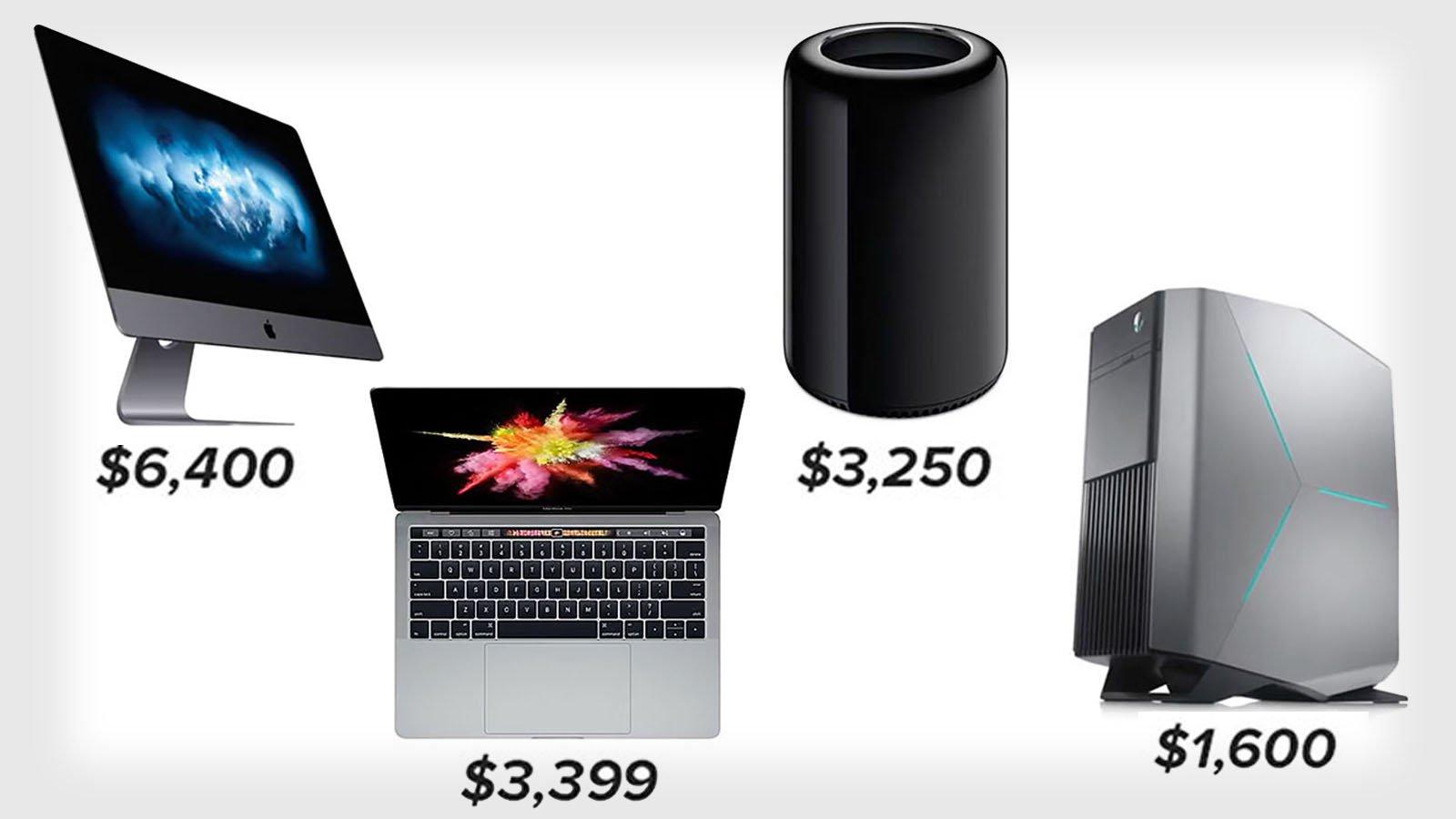 mac pro vs gaming pc